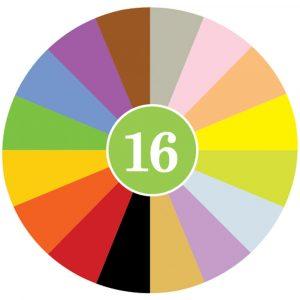 16 Crayon Rocks Colores 2