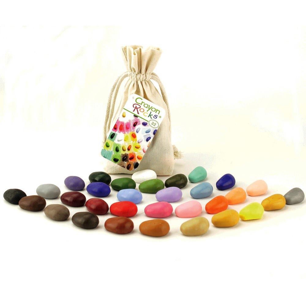 32 Crayon Rocks Bag