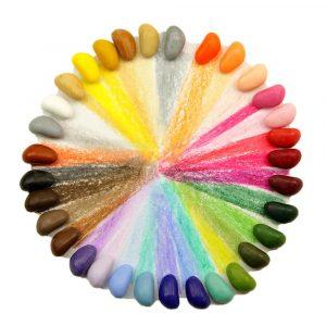 32 Crayon Rocks Colores