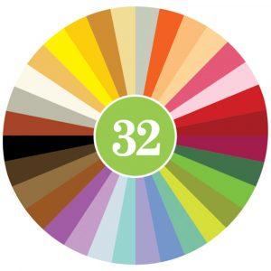 32 Crayon Rocks Colores 2