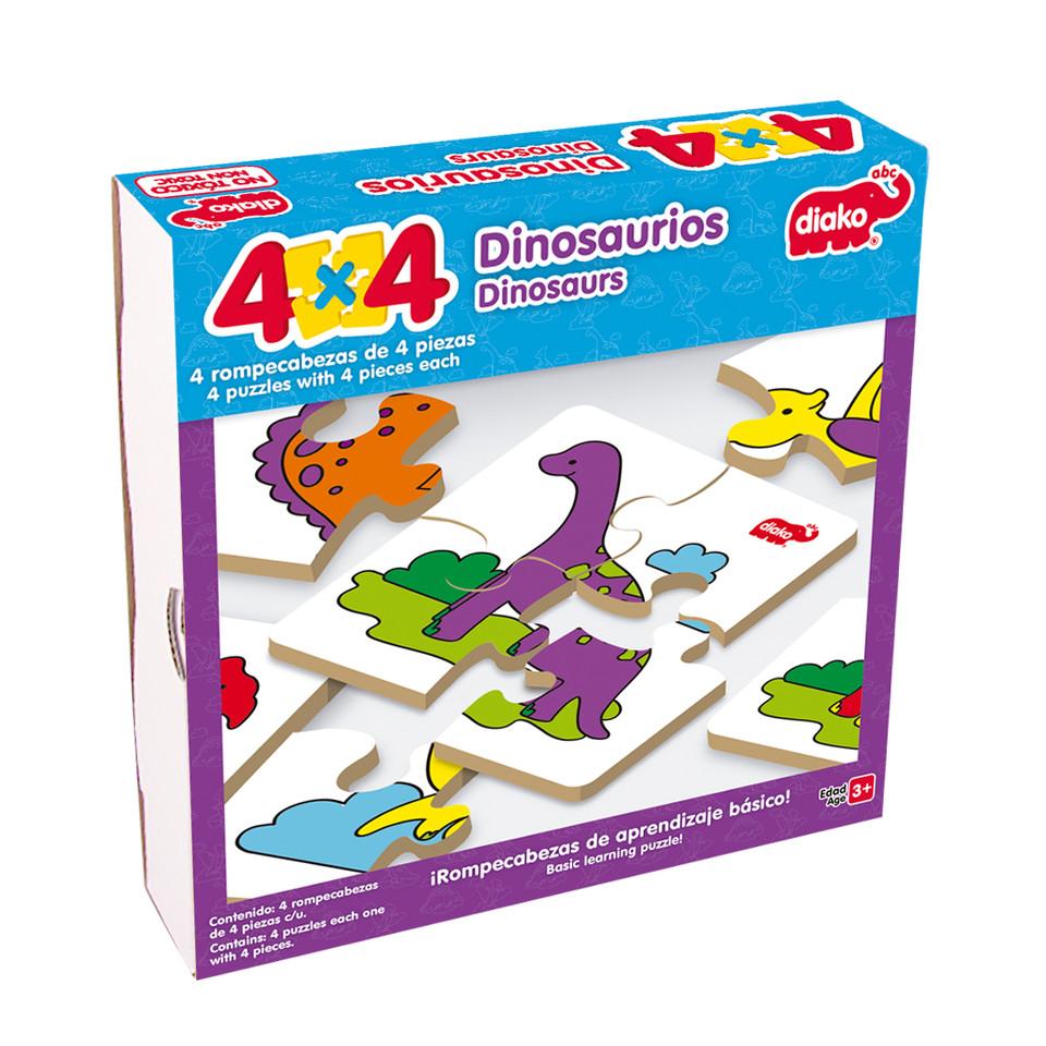 4X4 DINOSAURIOS