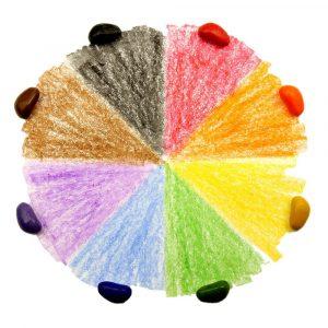 8 Crayon Rocks Colores
