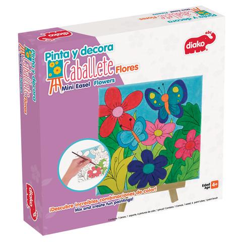 BU-1430-Pinta-y-Decora-Caballete-Flores