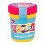 PLASTICREA FLUORESCENTE ROSA 150GR