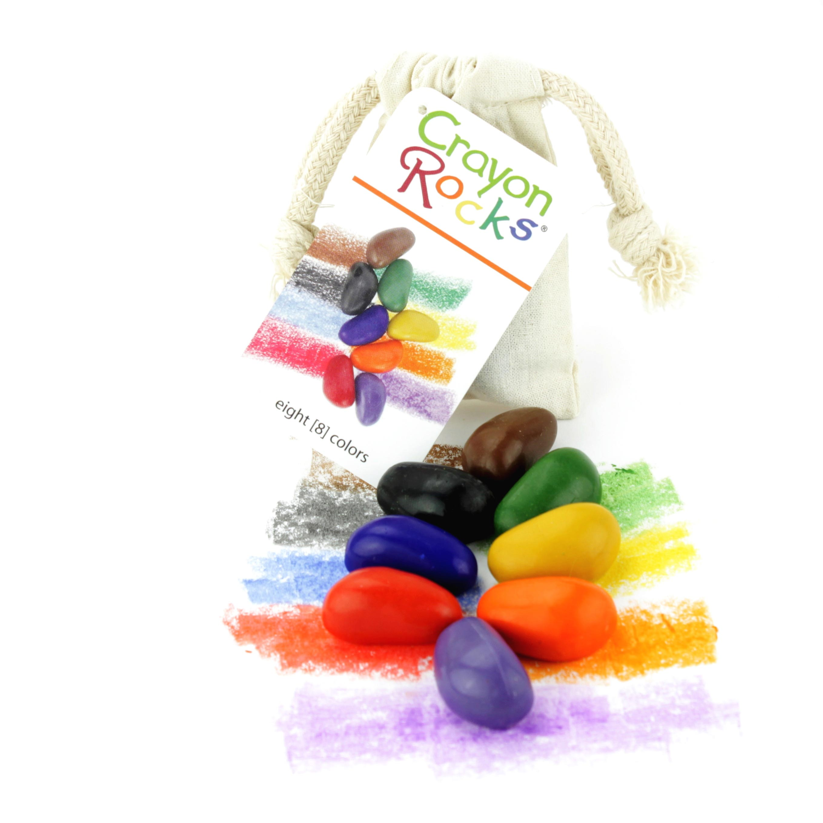8 Crayon Rocks Bag