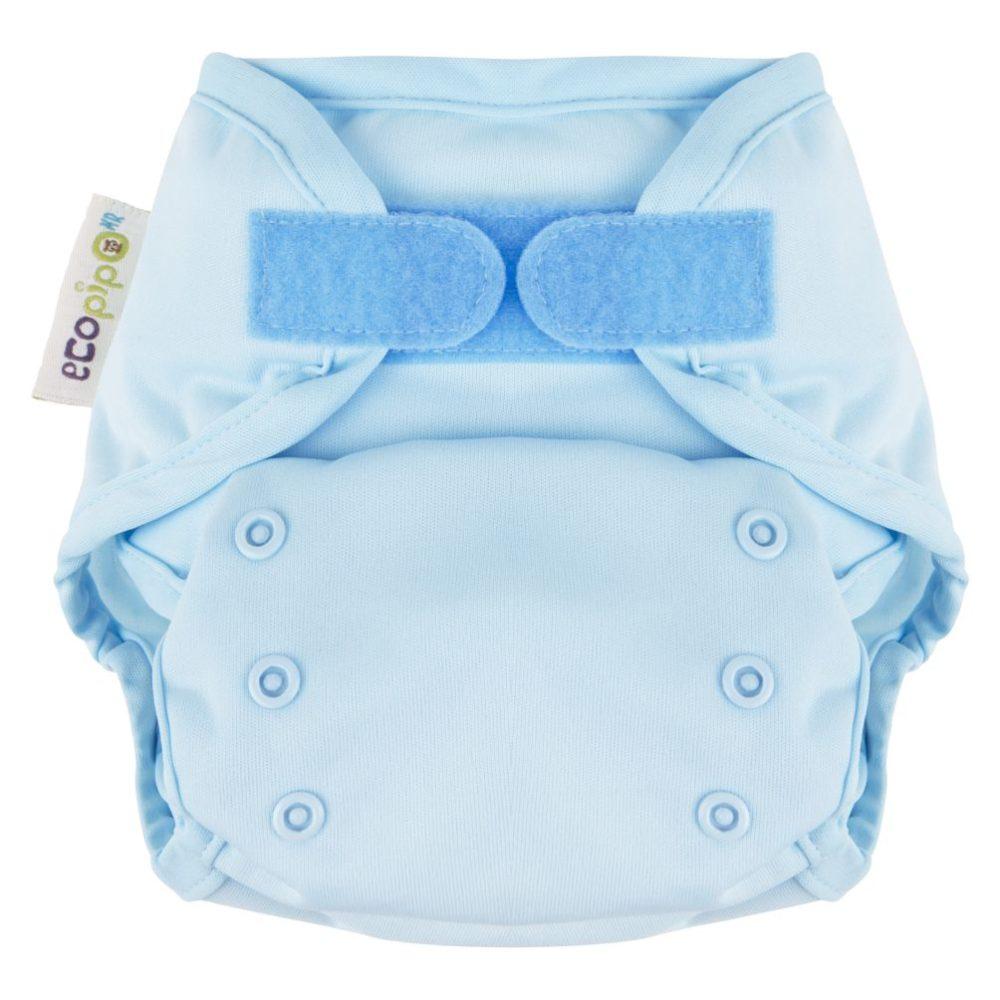 Cubierta Unitalla Velcro Lisa Ecopipo Azul