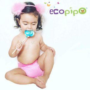 Bebe liso rosa Ecopipo