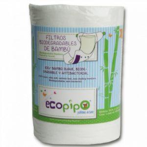 Papel Bambú 100 Hojas Ecopipo