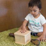 Caja de permanencia Montessori