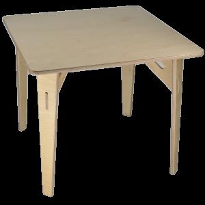 Mesa nanu de madera abedul