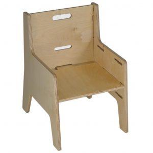 Silla Tata de madera abedul