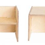 Silla cubo – Borucas y Garabatos