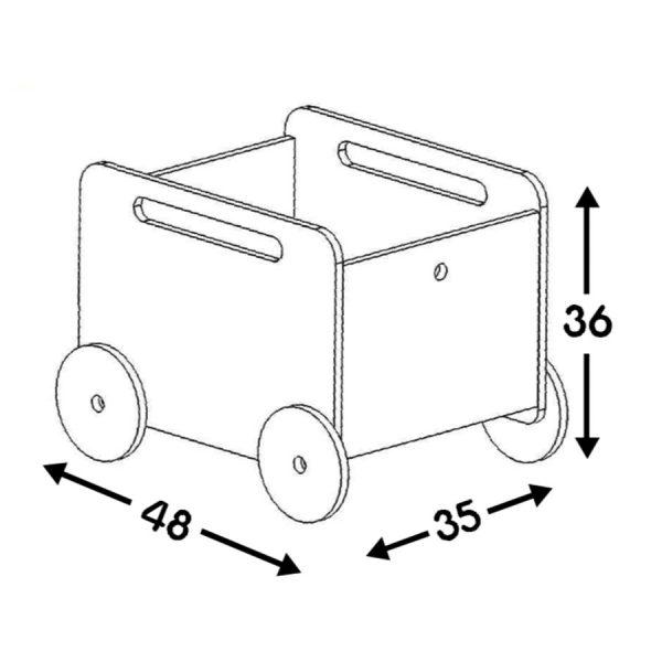juge – juguetero con llantitas – Borucas y Garabatos