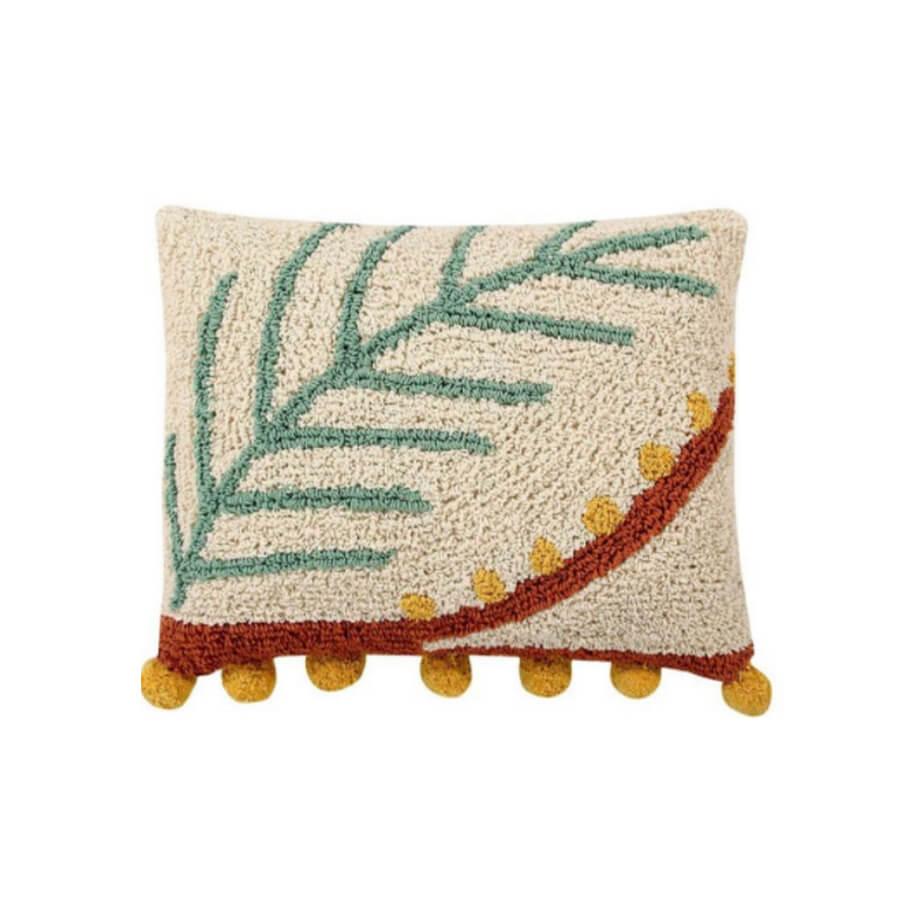 cojín plant palm