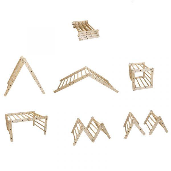 Triángulo de pikler – Borucas y Garabatos