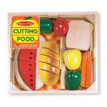 Alimentos para cortar de madera melissa & doug