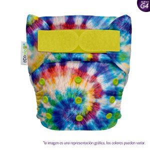Pañal de Tela Unitalla Estampado Ecopipo Hippie G4